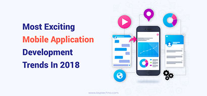 Most exciting mobile application development trends in 2018