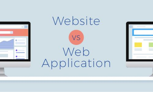 website vs web application
